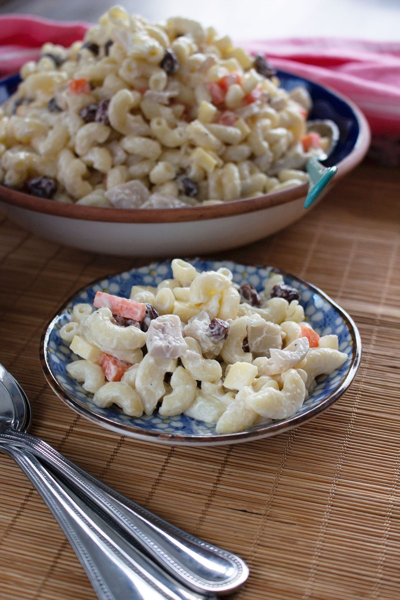 Vegan Filipino Macaroni Salad