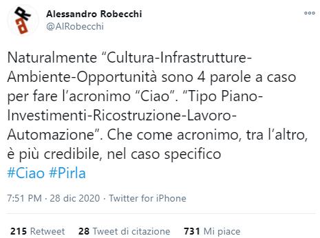 Ciao Renzi