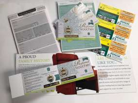 Gold foiling, scratch card, NCR pads