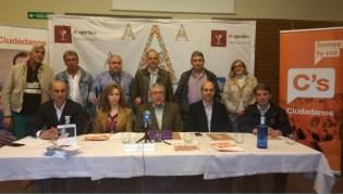 Presentación de la candidatura de Ciudadanos en Astorga (S. G.)