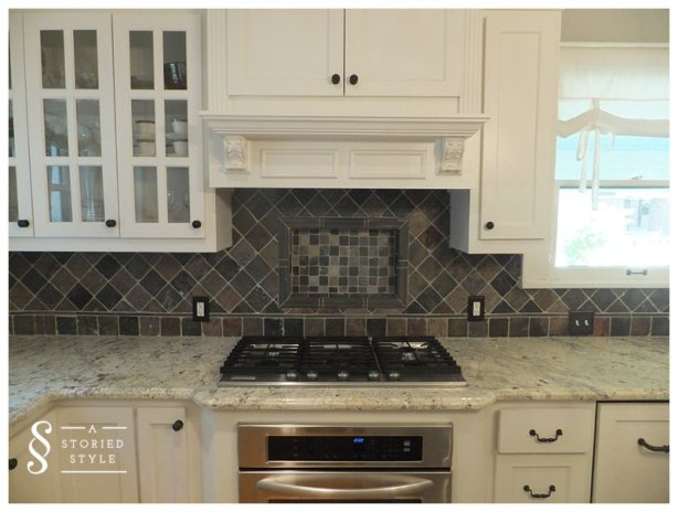 DIY Tutorial Chalkboard Paint Backsplash 48 Home Depot Gift Cool Chalkboard Paint Backsplash