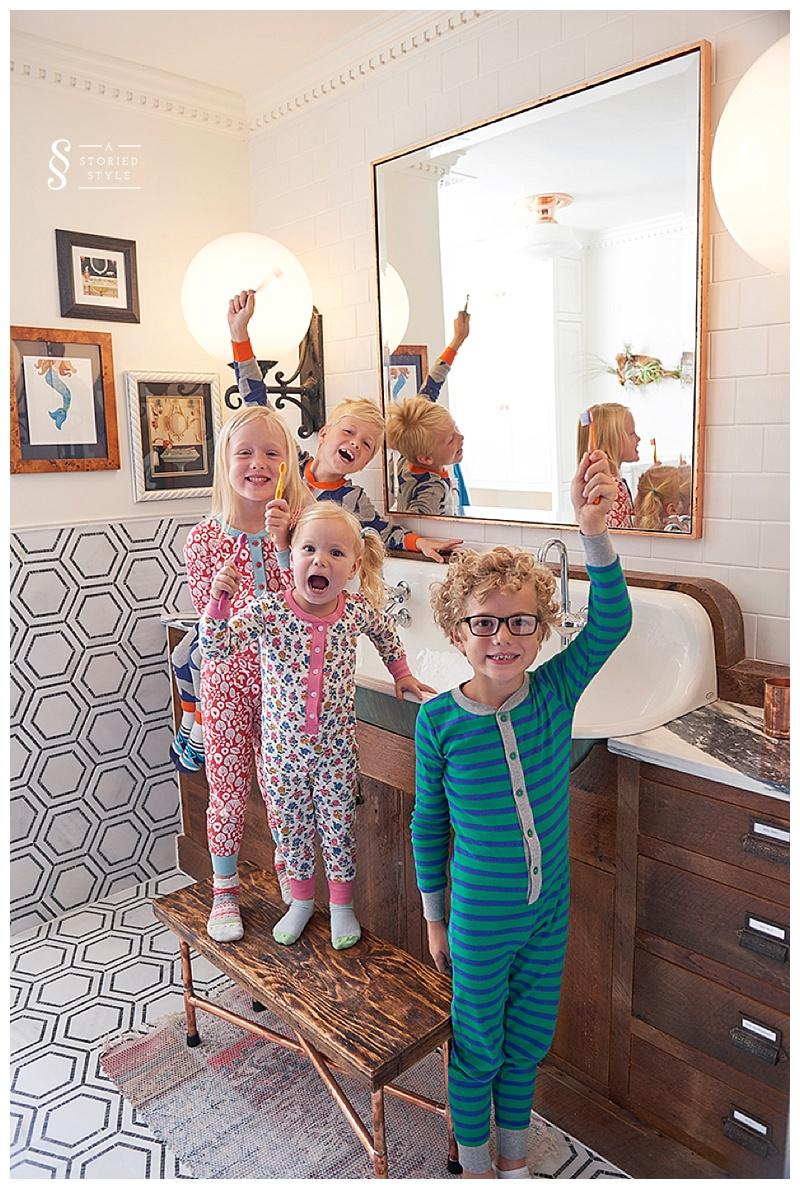 Before & After: Kids Bathroom Makeover