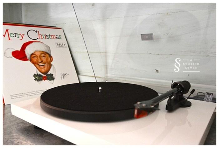 pretty record player