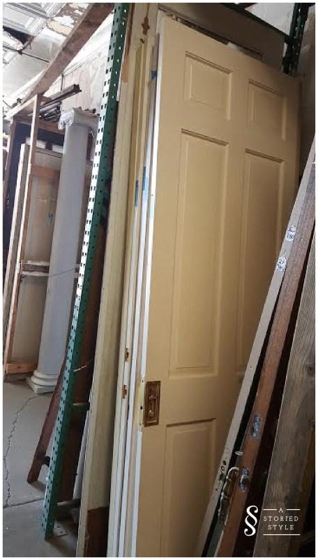 salvage yard doors