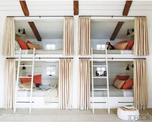bunk room - elle decor