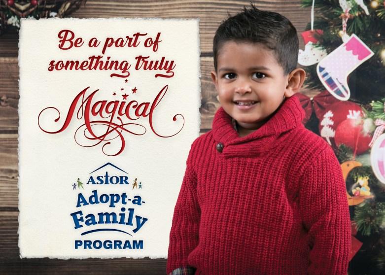 2018 Astor Adopt A Family Program Astor Services For Children