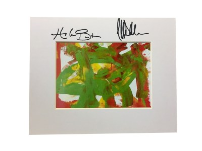 Autographed Spring Happiness Print
