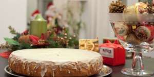 Vasilopita Cake Recipe