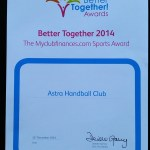 Better Together Award 2014. People's Choice Award