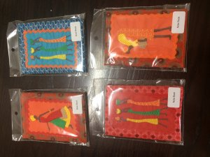 7 Note Book A6 ( Ethnic Ladies)