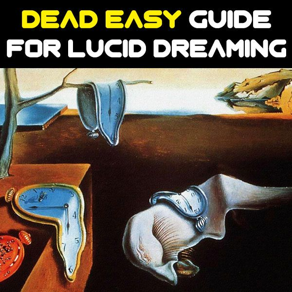 DEAD EASY GUIDE FOR LUCID DREAMING