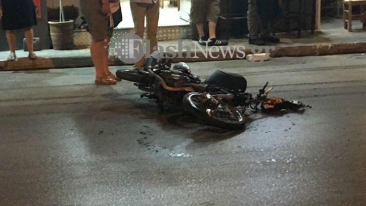 Σοβαρό τροχαίο με τρεις τραυματίες στα Χανιά