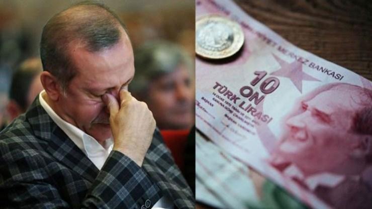 Τουρκία: Απώλεια 202 δισ. δολαρίων για τη χώρα την τελευταία 5ετία