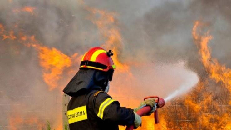 Υπό μερικό έλεγχο οι πυρκαγιές σε Αντίκυρα και Ορχομενό