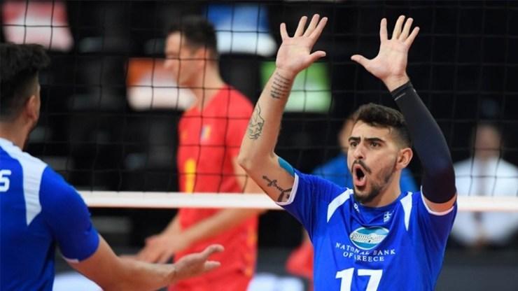 Βόλεϊ: Πρώτη νίκη για την Εθνική ανδρών στο Ευρωπαϊκό με 3-1 σετ επί της Ρουμανίας