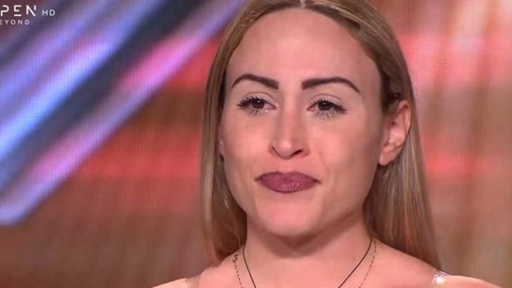 X Factor: Διαγωνιζόμενη έβαλε τα κλάματα με τα λόγια του Γιώργου Θεοφάνους