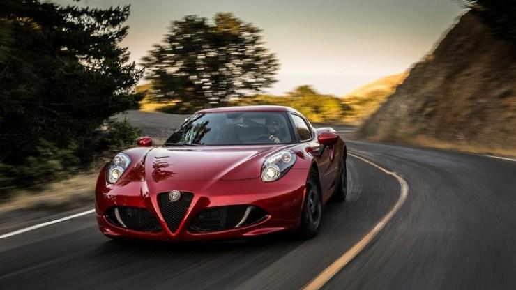 Καταργήθηκε η Alfa Romeo 4C