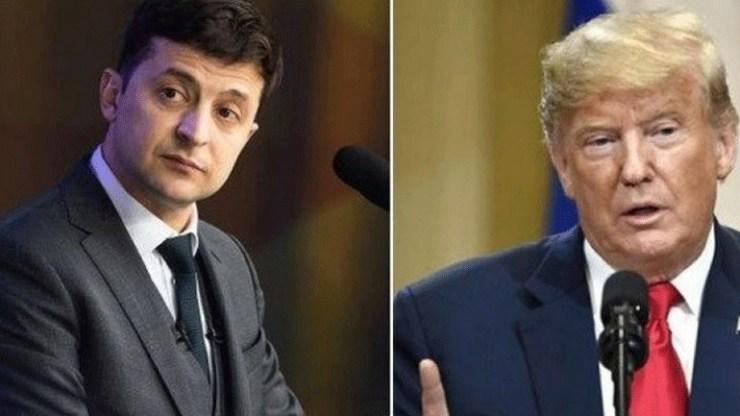 Στη δημοσιότητα οι «λεπτομέρειες» της τηλεφωνικής επικοινωνίας Τραμπ - Ζελένσκι