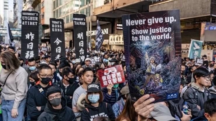 Χονγκ Κονγκ: Χιλιάδες διαδηλωτές στους δρόμους για την Ημέρα των Ανθρωπίνων Δικαιωμάτων