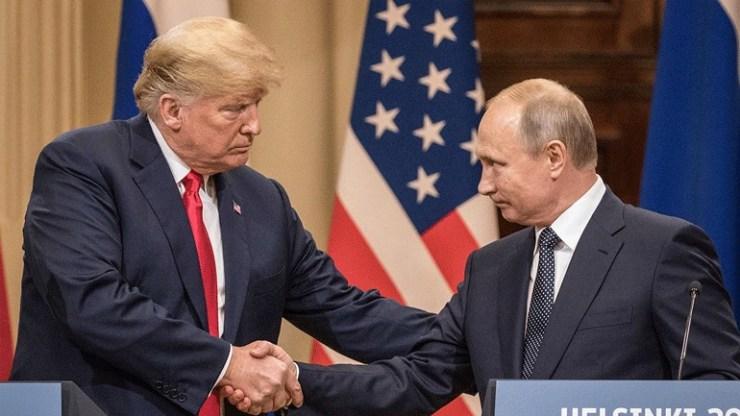 Ο Πούτιν ευχαρίστησε τον Τραμπ για πληροφορίες που βοήθησαν να αποτραπούν τρομοκρατικές επιθέσεις