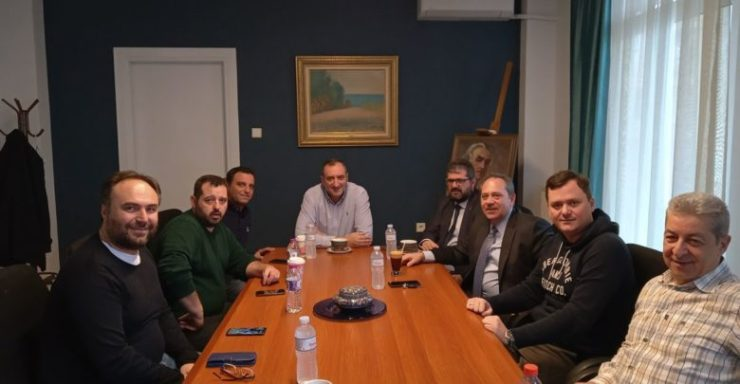 Με τον πρόεδρο του Ινστιτούτου Γεωπονικών Επιστημών συζήτησε ο δήμαρχος Τυρνάβου για την προώθηση των τοπικών προϊόντων