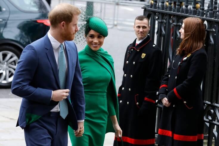 Χάρι, Μέγκαν και Ελισάβετ για τελευταία φορά σε δημόσια βασιλική εμφάνιση