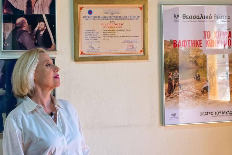 Κυριακή Σπανού στο onlarissa.gr: «Το Θεσσαλικό Θέατρο δεν θα μείνει σε… απόσταση» - Η επόμενη μέρα στην μετά-καραντίνας εποχή