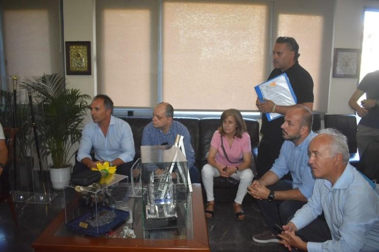 Λευτέρης Αυγενάκης από Λάρισα: 897.000 ευρώ για την αναβάθμιση του Αλκαζάρ - Στήριξη στον ερασιτεχνικό αθλητισμό (φωτο - βίντεο)