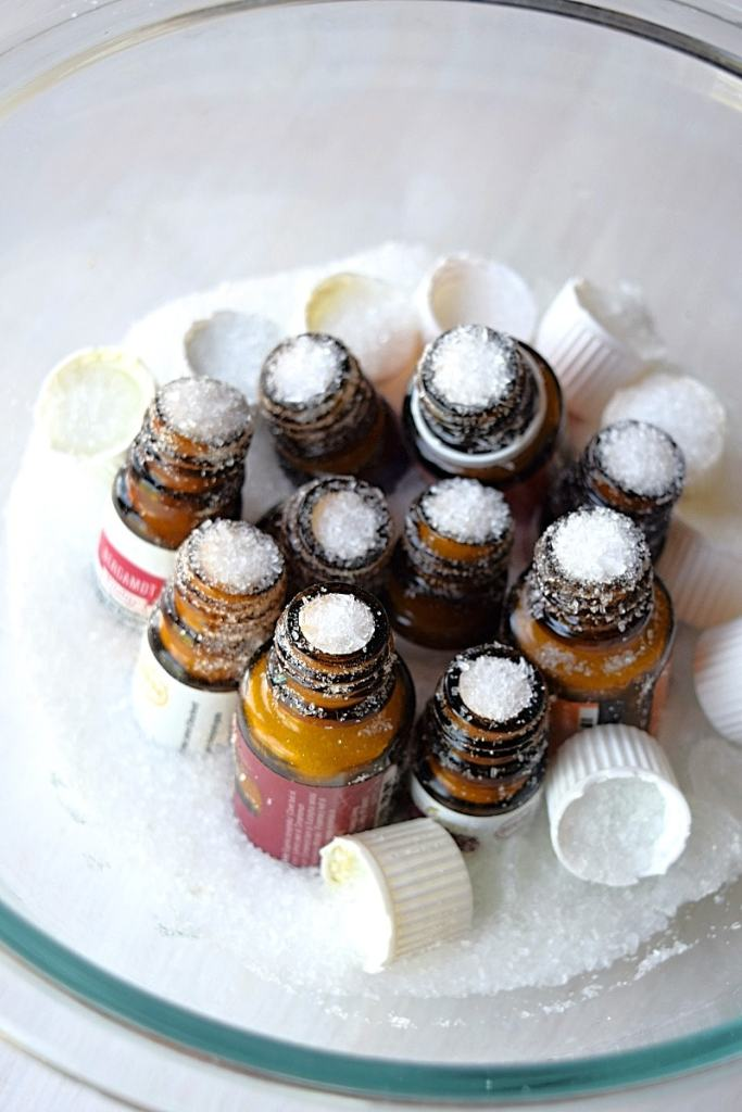 How to clean Empty Essential oil bottles and 5 ways to reuse them