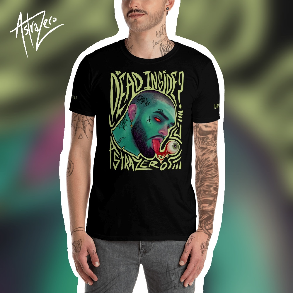 """Featured image for """"Dead Inside - Short-Sleeve Unisex T-Shirt"""""""