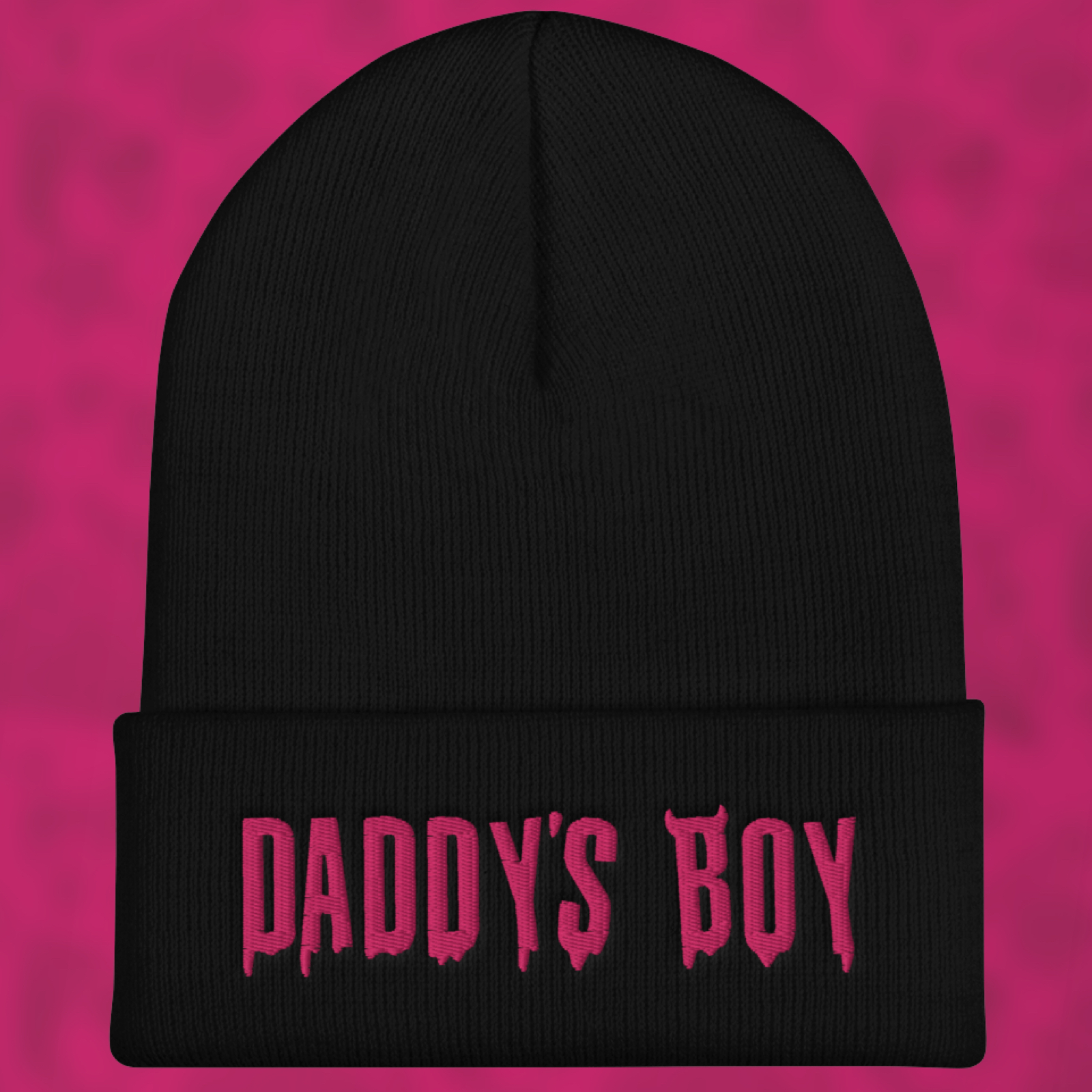"Featured image for ""Daddy's Boy - Cuffed Beanie"""