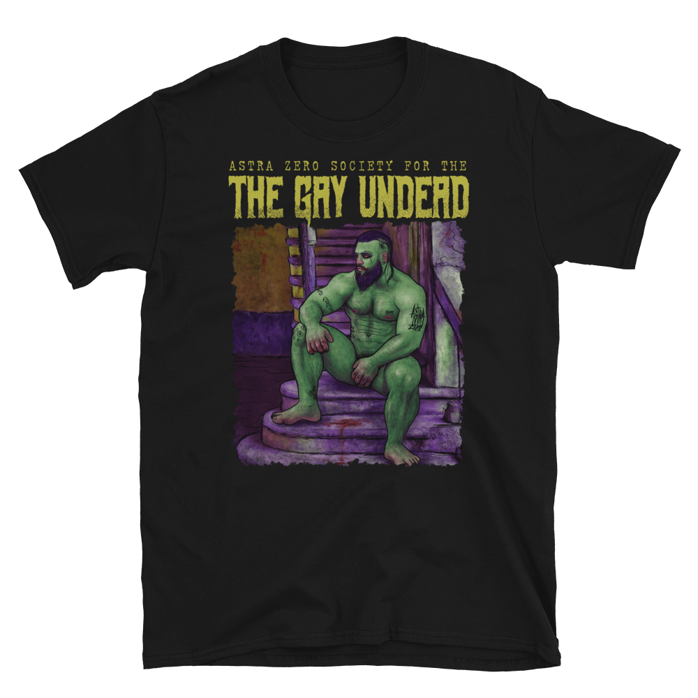 "Featured image for ""The Gay Undead - Short-Sleeve Unisex T-Shirt"""