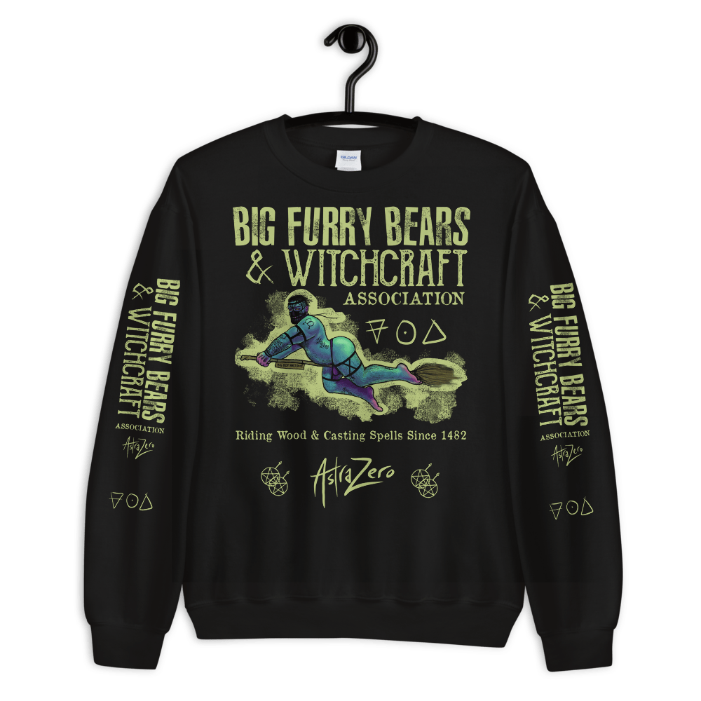"Featured image for ""Big Furry Bears & Witchcraft - Unisex Sweatshirt"""