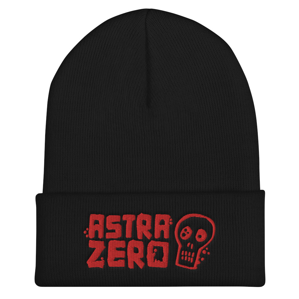 "Featured image for ""Astra Zero Skull - Cuffed Beanie"""