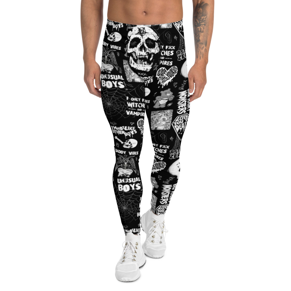 "Featured image for ""Gay Punk - Men's cut & sew Leggings"""