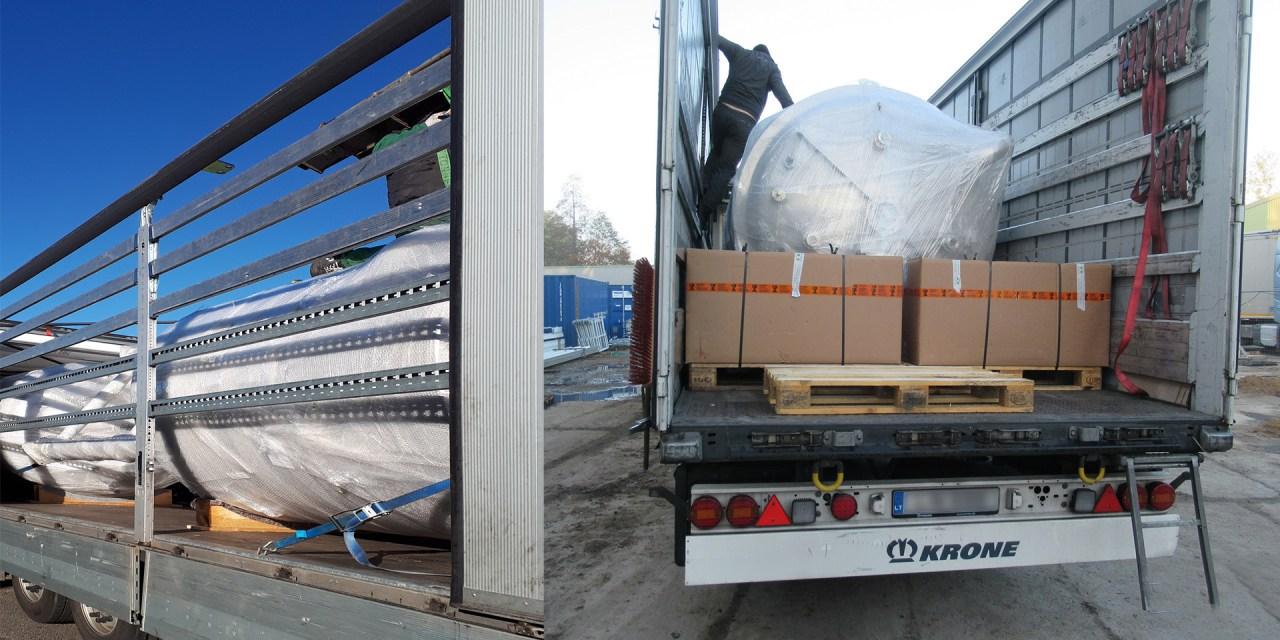 Erfolgreiche Kooperation: Sachsenland Transport & Logistik GmbH und Transports Boudet führen gemeinsam Spezialtransport durch