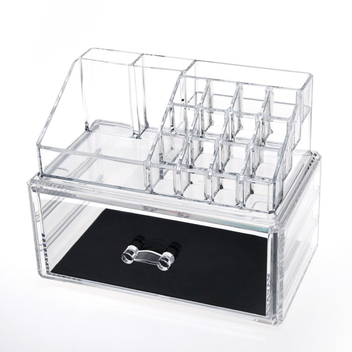 Acrylic Jewelry & Makeup Organizer Series