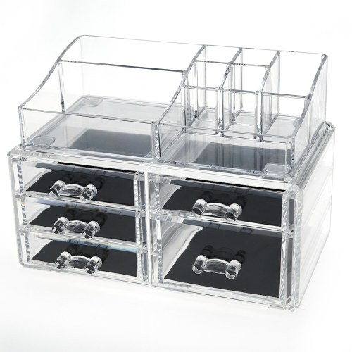 Acrylic Cosmetic Storage Makeup Organizer Series(5 Drawers)