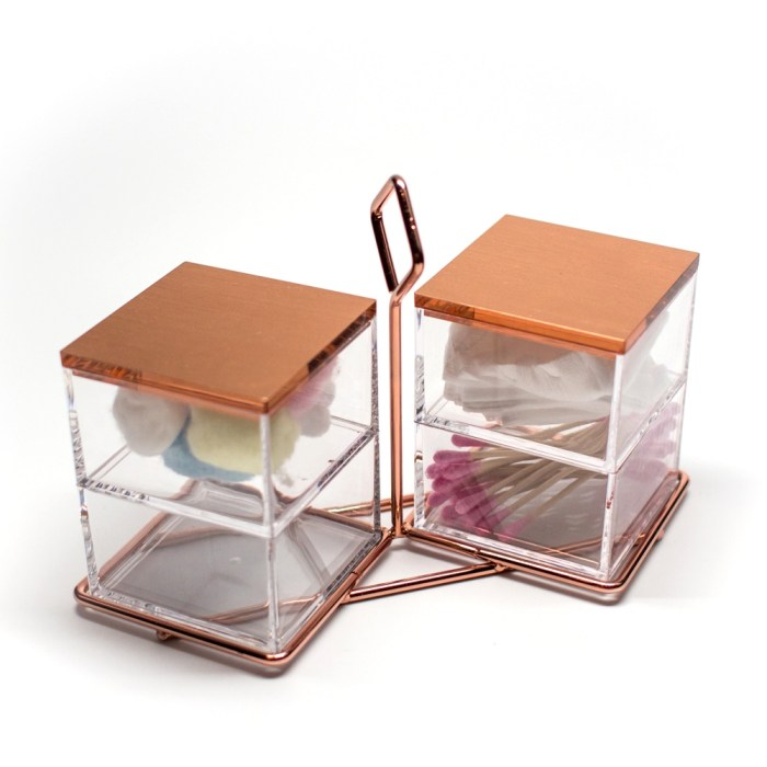 Multi-function Hanging Acrylic Stackable Organizer