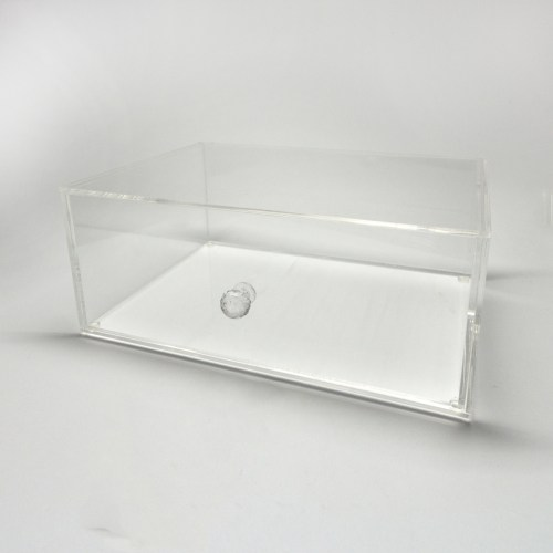 Transparent Acrylic Makepup Organizer with Diamond Holder