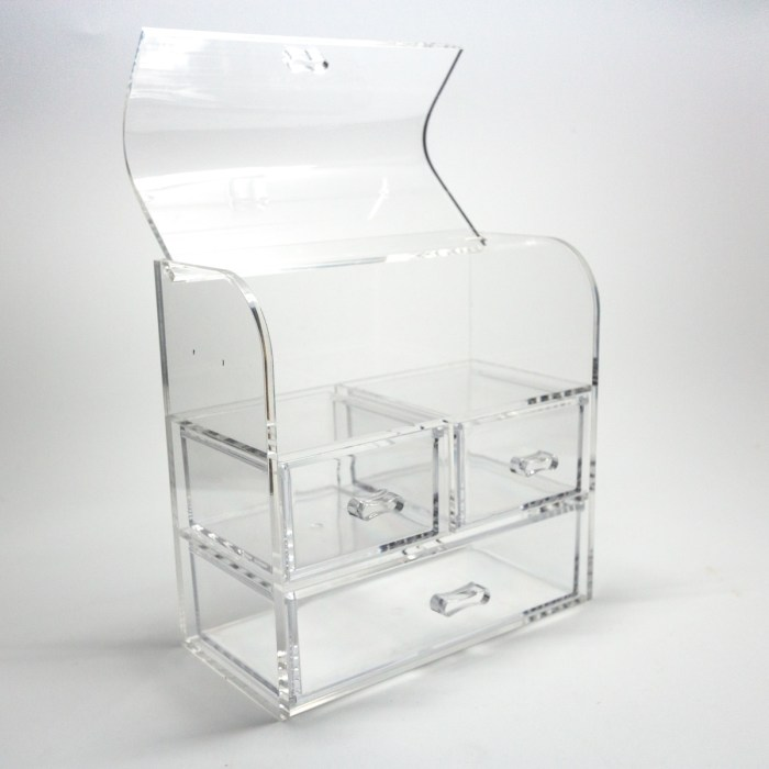 Dust-proof Lid Jewelry Organizer