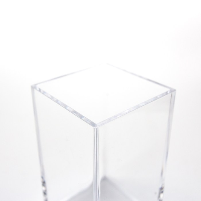 Rectangle Accessories Bath Clear Cup Clear
