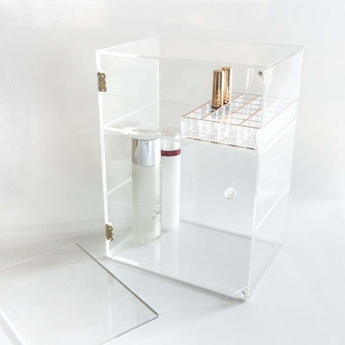 Acrylic Large 3 Layer Removable Organizer