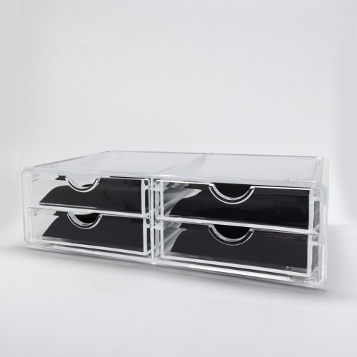 Transparent Acrylic Four Drawers Organizer