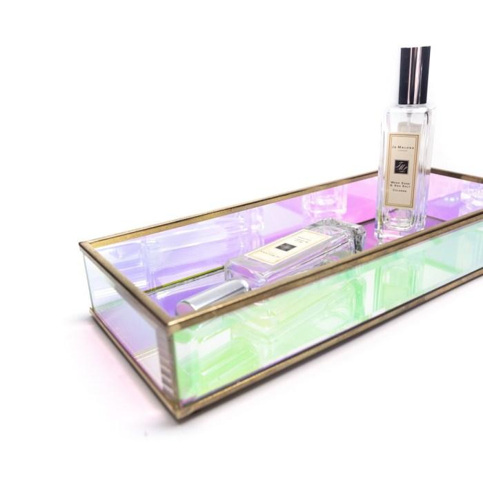 Vintage Decorative Tray Iris