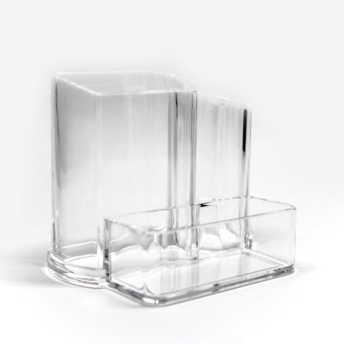 Acrylic 3 Size Desktop Sundries Organizer
