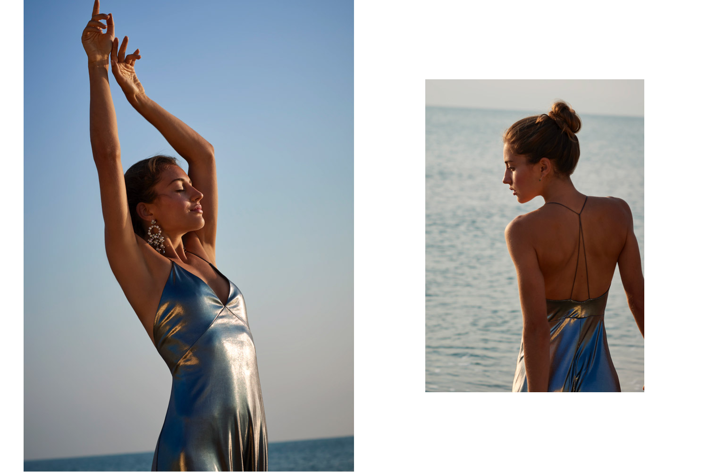 Astrid Obert Photography presents Divine Female Power Editorial Beauty   Sunrise Girl Beach PowerWoman Water Beauty  dancing girl beach emotion
