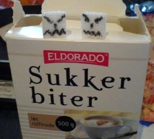 sinte sukker biter