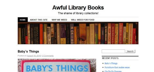 Awful Library Books