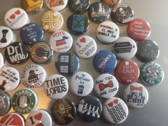 Dr. Who buttons
